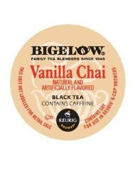 Bigelow® Vanilla Chai Tea K-Cup® Packs, 24/Bx