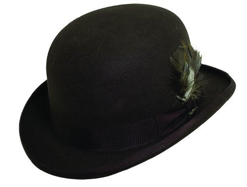 Scala Derby Hat (Chocolate / Large)