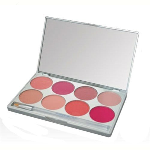 CHEEK Powder Palette - 8 Shades