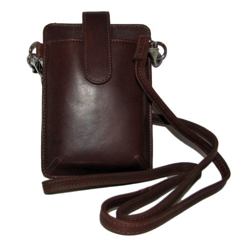 Crossbody/Detachable Shoulder & Wristlet Smartphone Case - Toffee