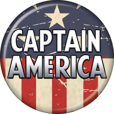 Captain America Logo - BUTTONS