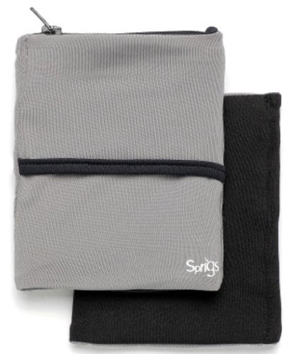 Sprigs Big Banjee Wrist Wallet (Grey/Black / One size fits most)