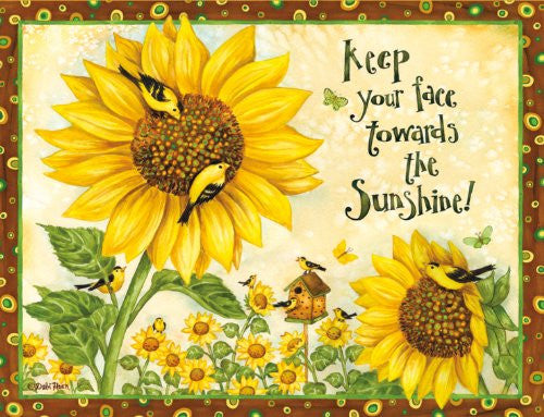 BOXED NOTE CARDS - Sunflowers