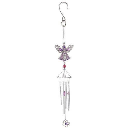 Pewterworks Angel Crystal Chime