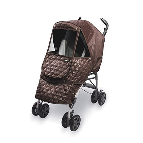 Castle Alpha Stroller Weather Shield, Chocolate