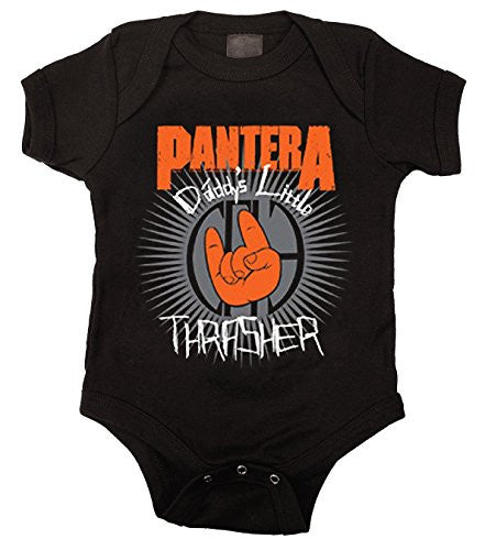 Pantera Daddy's Little Thrasher Romper Size 12-18 Months