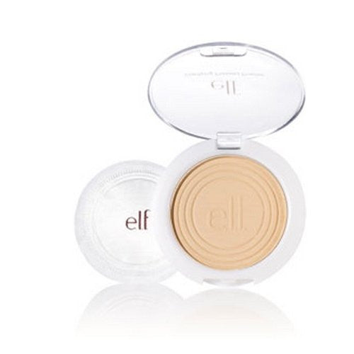 e.l.f. Essential Clarifying Pressed Powder - Light Beige