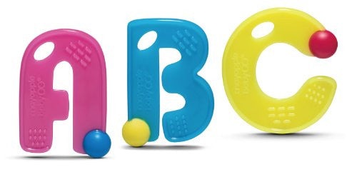 ABC Teething Letters - Guava set