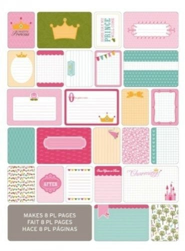 American Crafts - Project Life Themed Cards 40/Pkg - Princess