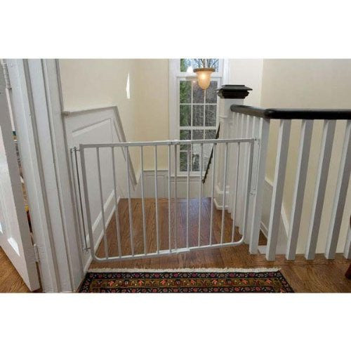 Cardinal Gates Stairway Special Gate, White New Born, Baby, Child, Kid, Infant