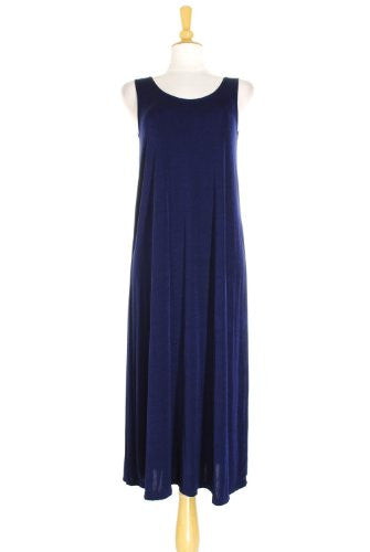 BNS Long Tank Dress - Navy, Small