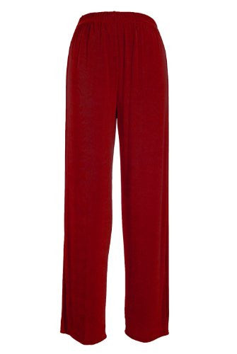Acetate Big Pants - Red, 3X