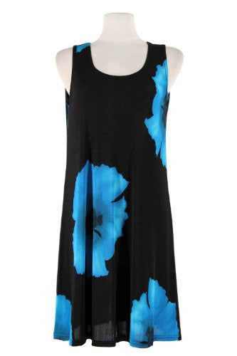 BNS Missy Tank Dress - Turquoise, X-Large