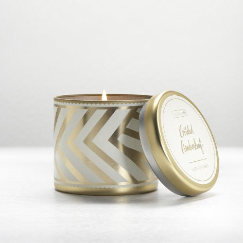 Large Tin Candle, 10.2 oz - Gilded Amberleaf