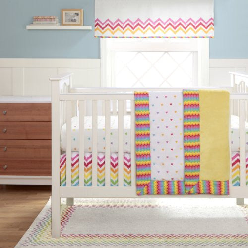 MIGI RAINBOW - 3PC Crib Set