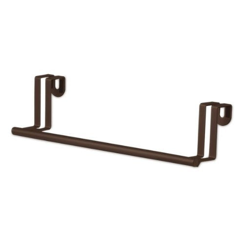 "Over the Cabinet/Drawer 11"" Towel Bar 1/Card - Bronze"