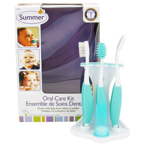 Summer Infant - Oral Care Kit - 5 Piece(s) CLEARANCE PRICED