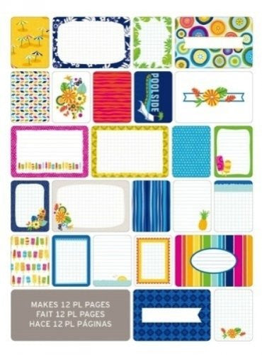 American Crafts - Project Life Themed Cards 60/Pkg - Tropical