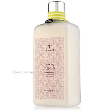 Thymes Temple Tree Jasmine Bubble Bath, 12.25 Fl Oz / 360 Ml