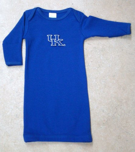 Kentucky Wildcats Layette Gown (NB - 3 Months, School Color)