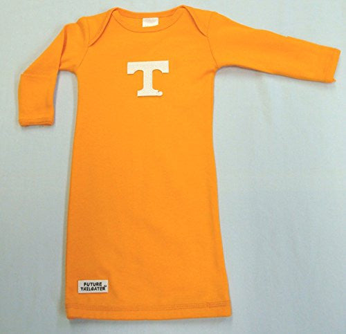 Tennessee Volunteers Layette Gown (NB - 3 Months, School Color)