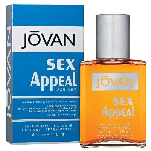 JOVAN, Sex Appeal 4 oz. After Shave Cologne
