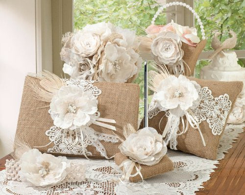 Burlap and Lace Collection Prepack