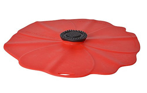 Charles Viancin 2902 9-Inch Poppy Lid, Medium