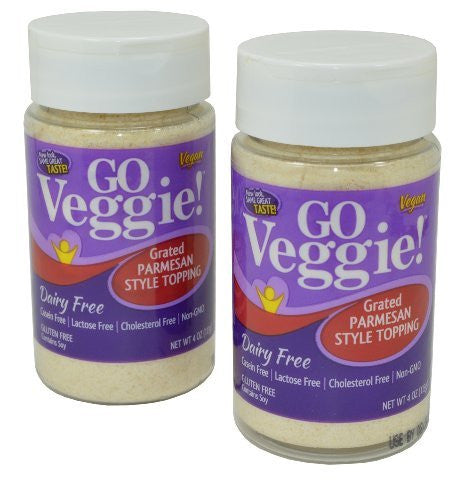 Go Veggie Vegan Parmesan Cheese Pack of 2
