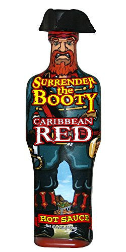 Surrender the Booty Caribbean Red Hot Sauce