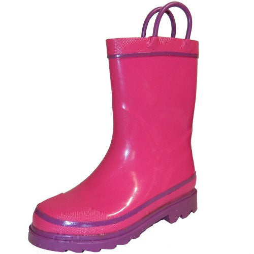 Western Chief Fire Chief Rain Boot (Toddler/Little Kid/Big Kid),8 M US Toddler,Pink