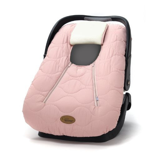 Cozy Cover (fall/winter car seat carrier cover) - Pink Quilt