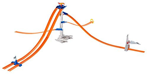 HOT WHEELS® TRACK BUILDER 5-LANE TOWER STARTER SET