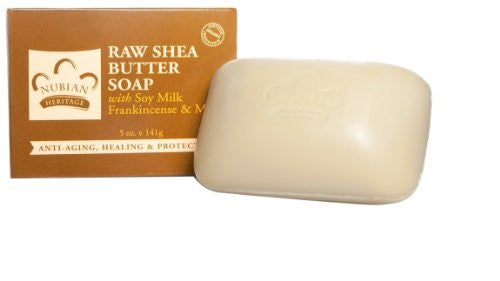 Raw Shea Butter Soap w/Soy Milk & Frankincense & Myrrh 5oz
