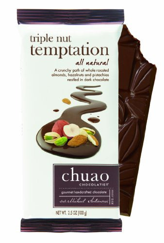 Chocolate Bars - Triple Nut Temptation