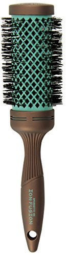 Spornette Ion Fusion Aerated Hair Brush, Round, 2.5 Inch