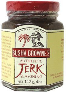 Busha Brownes Jerk Seasoning 4.0 OZ