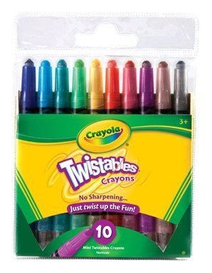 10 ct. Mini Twistables Crayons
