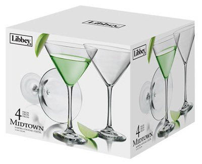Libbey 12oz Martini Glass
