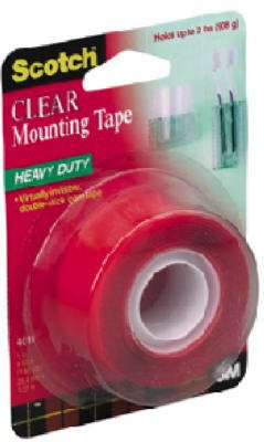 Mounting Tape Clear 1 in x 60 in