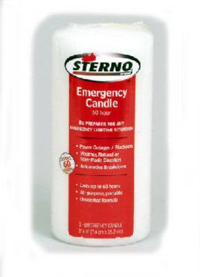 "STERNO 6"" COLUMN CANDLE"