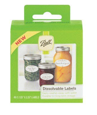 Dissolvable Labels 60-pc
