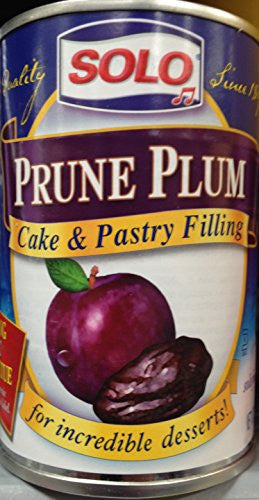 Prune Plum Filling 12.0 OZ (Pack of 2)