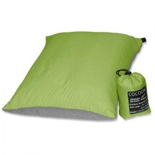 Cocoon ~ Air-Core Pillow, Wasabi/Grey