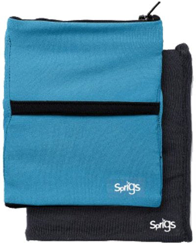 Sprigs Big Banjee Wrist Wallet (Turquoise/Black / One Size)