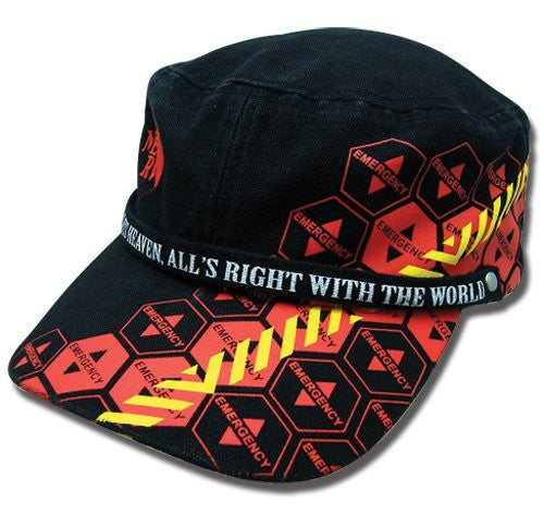 Evangelion Nerv And Magi Warning Military Hat