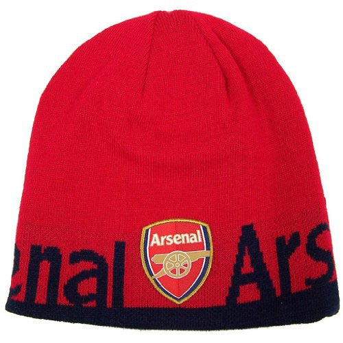 Arsenal FC Official SOCCER One Size Knit Beanie Hat