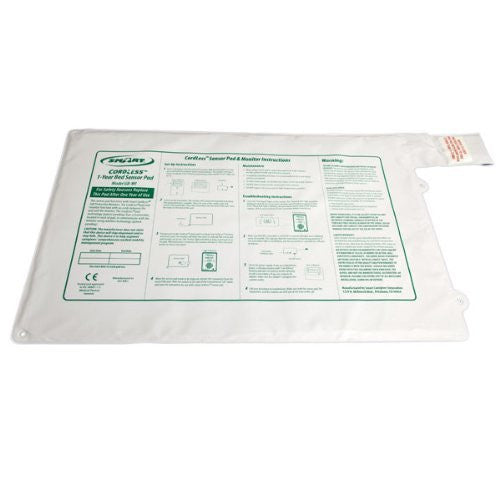 "CordLess Bed Sensor Pad 10""x30"" - 1 Year Pad Life"