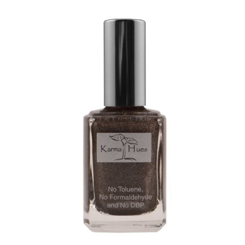 Midnight In Time Square Nail Polish
