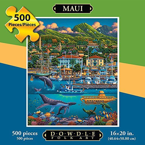 Maui 500 Pieces Box Puzzles, 16x20 inch